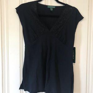 Ralph Lauren Short Sleeve Top Size S